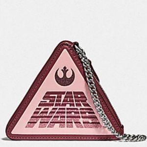 Nwt Star Wars X Coach coin wallet